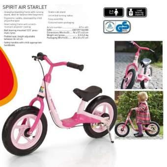 BICI SPIRIT AIR ROSA S/PEDALES C/FRENO