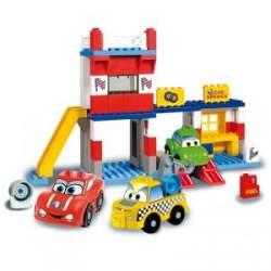 CONSTRUCCIÓN GARAJE 108 PIEZAS CARS FOR KIDS