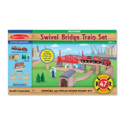 SWIVEL BRIDGE TRAIN SET - TREN DE MADERA