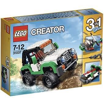 LEGO CREATOR - VEHÍCULOS DE AVENTURA, MULTICOLOR