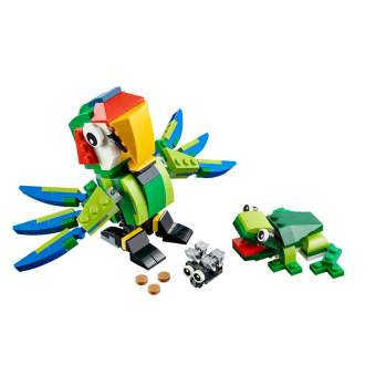LEGO - ANIMALES TROPICALES, MULTICOLOR